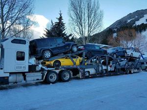 open auto transport vehicle