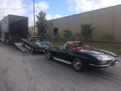 Classic Corvettes Enclosed Transport