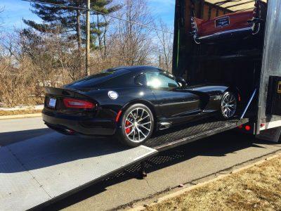 Dodge Viper SRT Enclosed Shipping