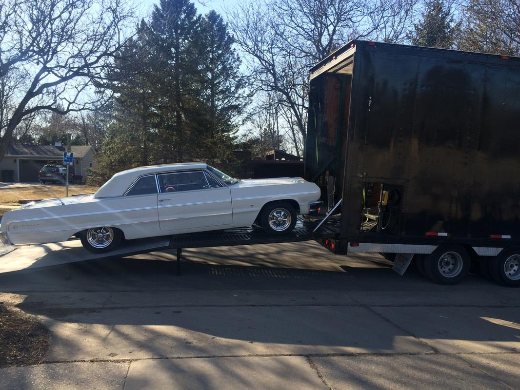 1964 Chevy Impala Enclosed Carrier