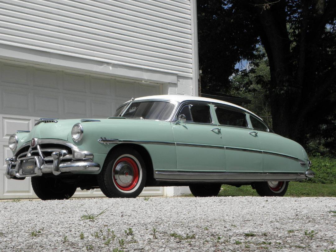 1952 Hudson Hornet To Hawaii Enclosed Carrier