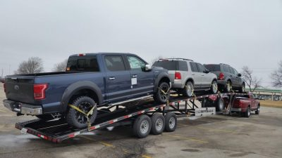 2016 Roush Ford F150 Open Shipping Fountain Transport Services