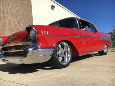 1957 Chevy Bel Air Delivered Fountain Transport Services