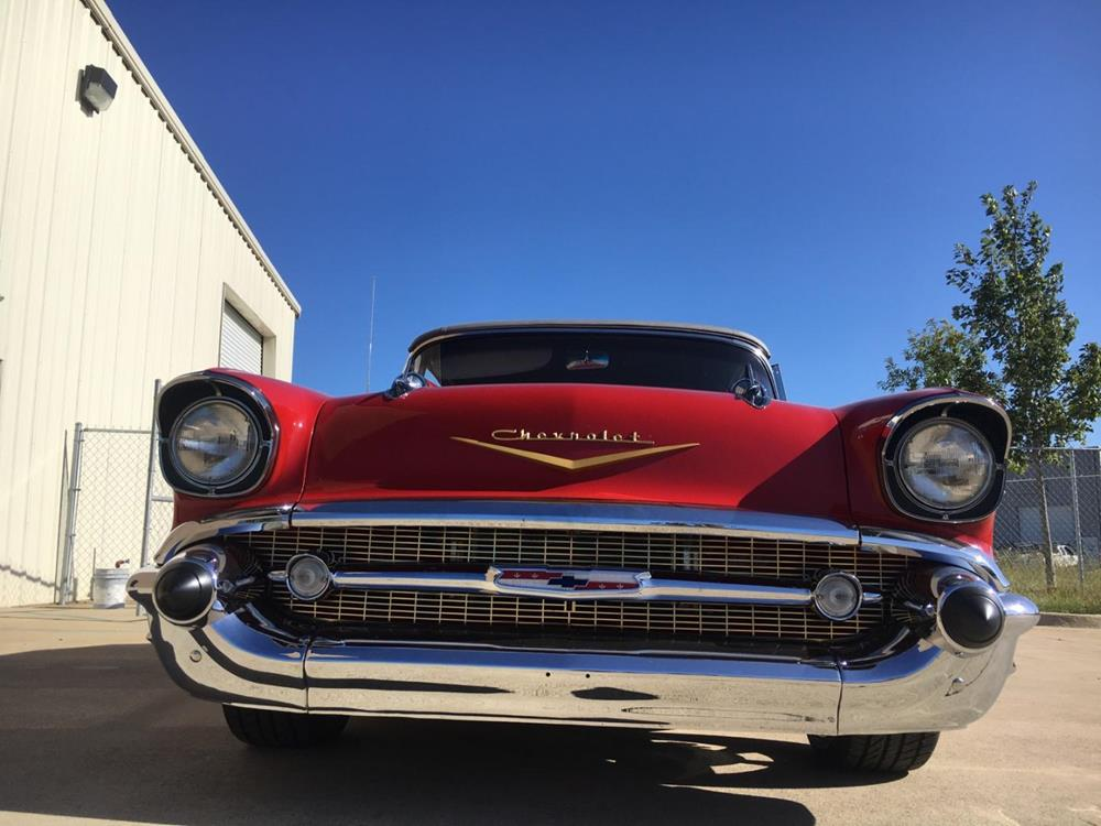 1957 Chevy Classic Dealer Enclosed Carrier