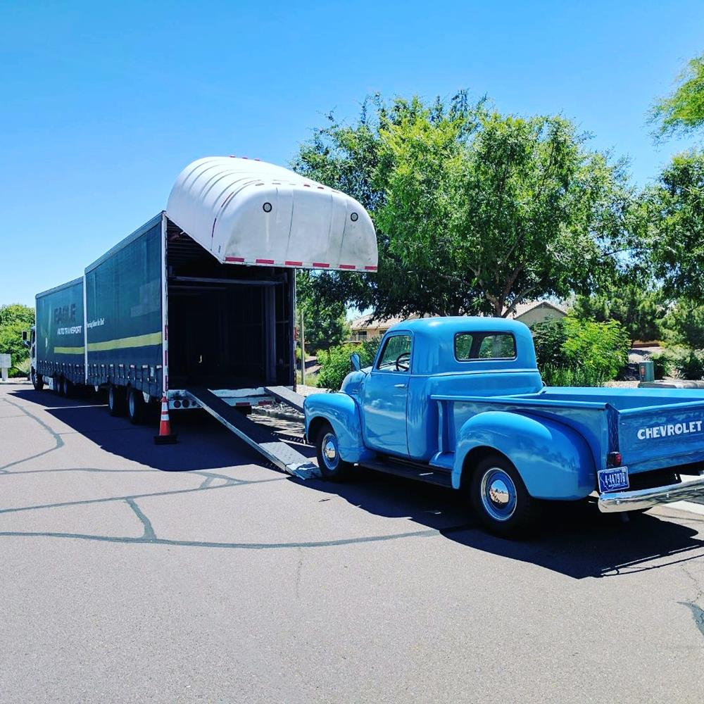 1950 Chevy Pickup Delivery Fountain Transport Services