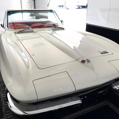 1966 Chevy Corvette Convertible Fountain Transport Services