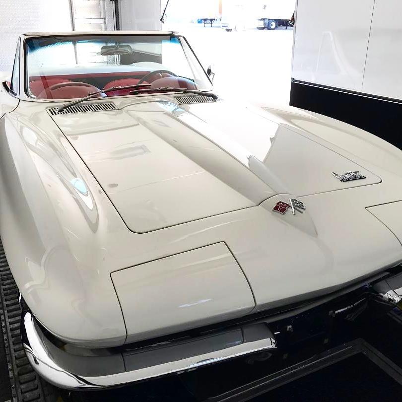 1966 Chevy Corvette Convertible Fountain Transport Services