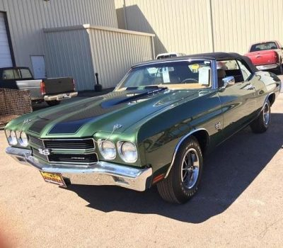 Rare 1970 Chevy Chevelle SS Fountain Transport Services