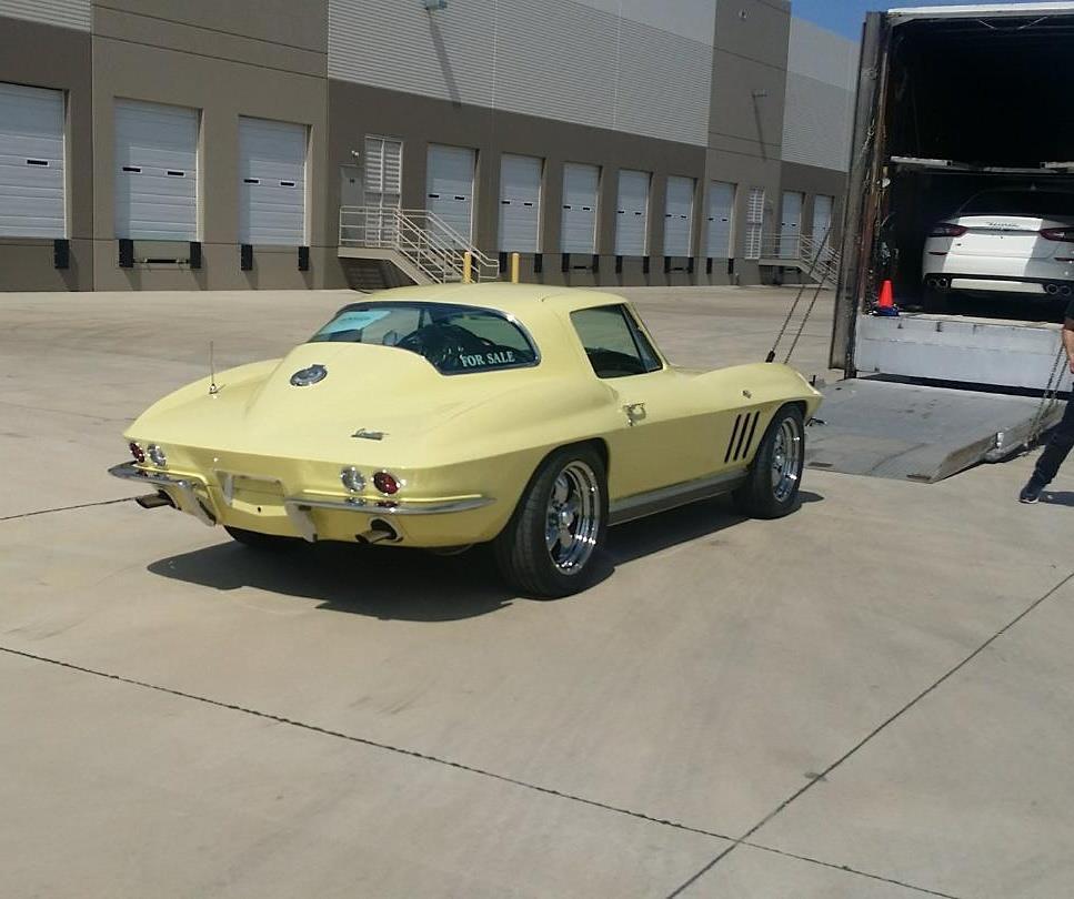 1966 Chevy Corvette Enclosed Liftgate Carrier