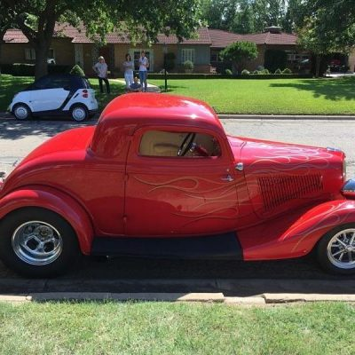 1934 Ford 3 Window Custom Coupe Classic Dealer Customer