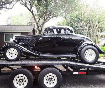 1934 Ford Custom Coupe Fountain Transport Services