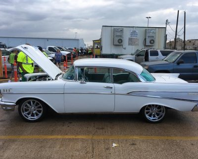 1957 Chevy Bel Air Galveston Port Enclosed Carrier
