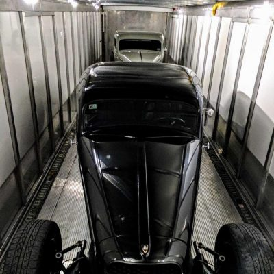 1934 Ford Coupe 1936 Plymouth Coupe Enclosed Shipment