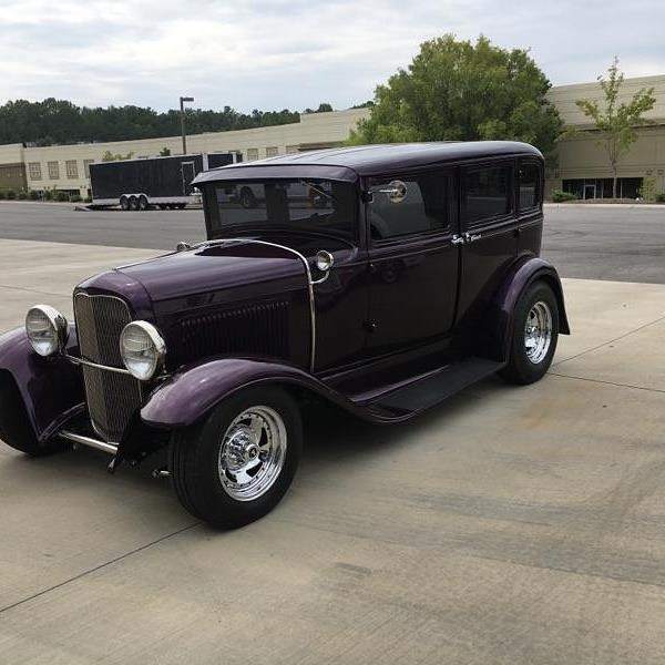 1930 Ford Custom Hotrod Fountain Transport Services Enclosed Transport