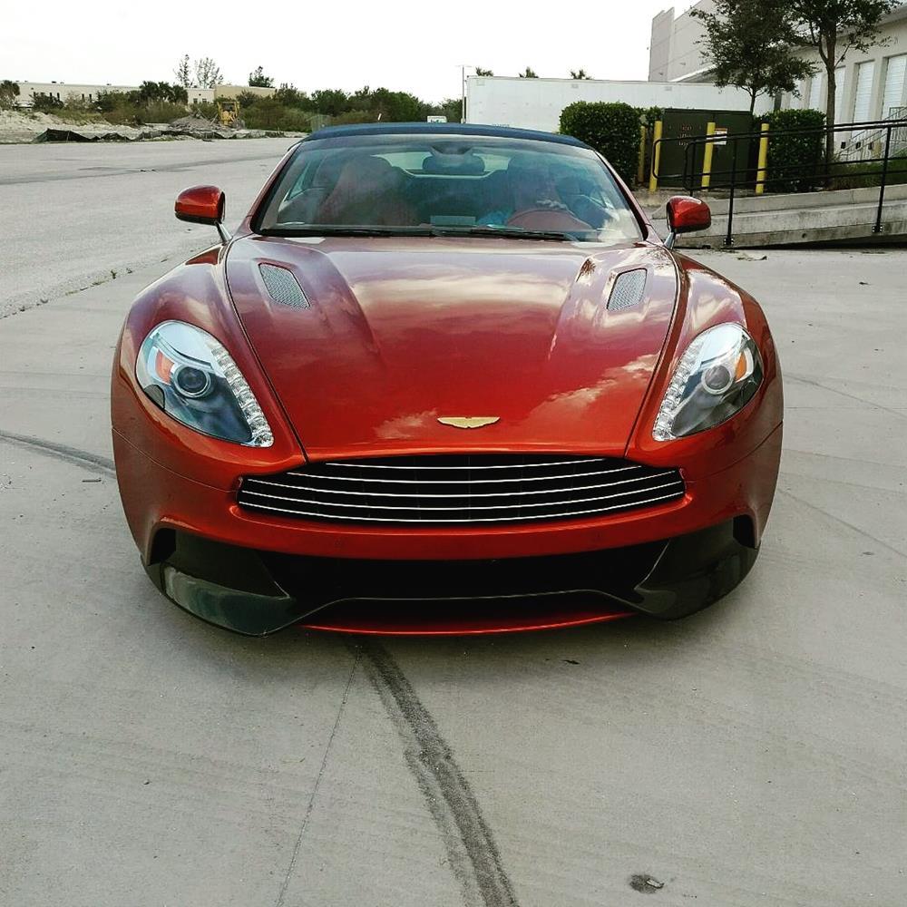 2013 Aston Martin Vanquish Enclosed Transport Delivery