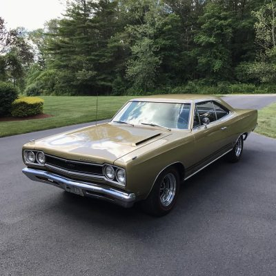 1968 Plymouth GTX Enclosed Transport