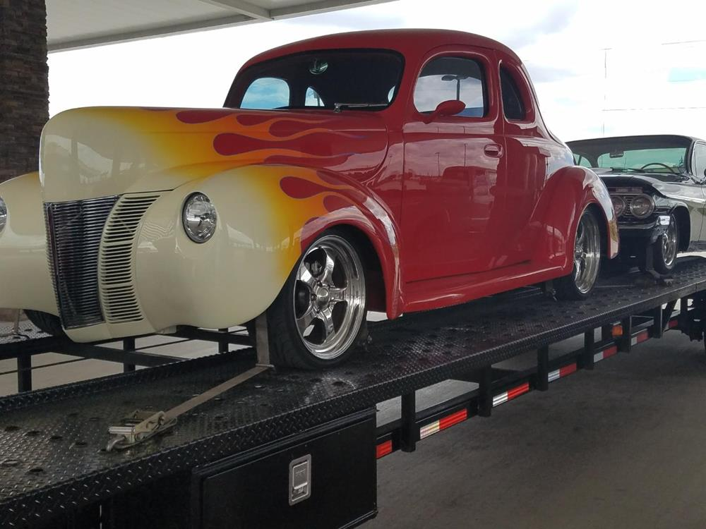 1940 Ford Coupe Custom Hot Rod Fountain Transport Services
