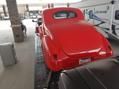 1940 Ford Coupe Hot Rod Open Transporter
